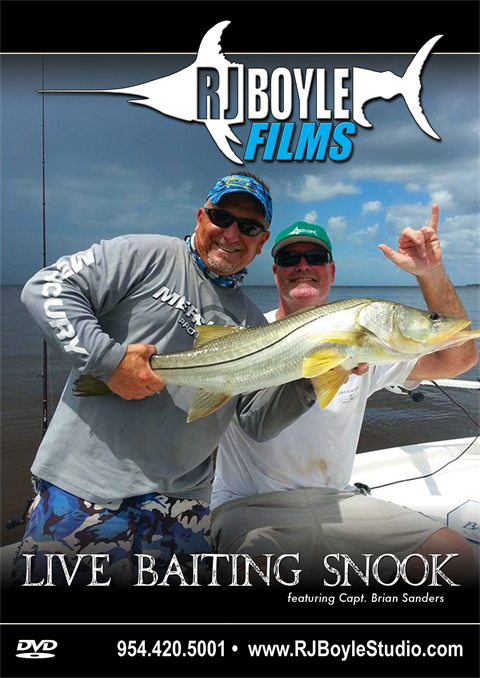 Live Baiting Snook (1 hour, 9 minutes)