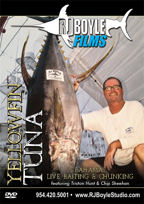Yellowfin Tuna Chunking and Live baiting (1 hour, 21 minutes)