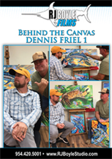 Behind The Canvas - Dennis Friel 1 (49 minutes)