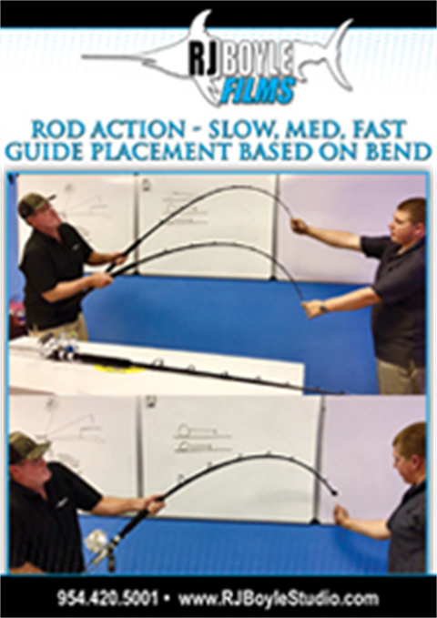 Rod Action What's The Difference Between Slow, Medium and Fast Action