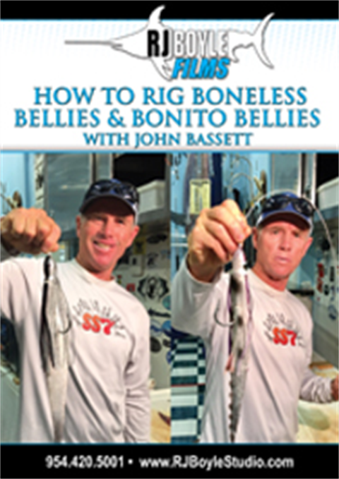 How to Rig Boneless Bellies and Bonito Bellies  With John Bassett