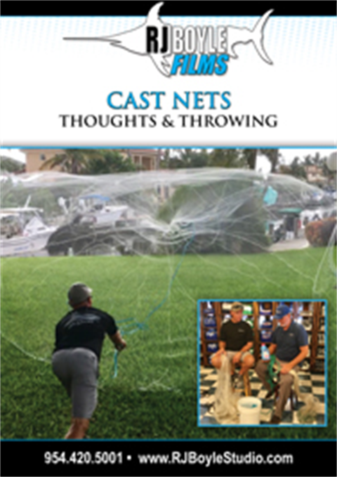 Cast Nets - Thoughts & Throwing