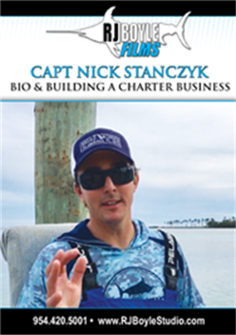 Capt Nick Stanczyk  Bio and Building a Charter Business