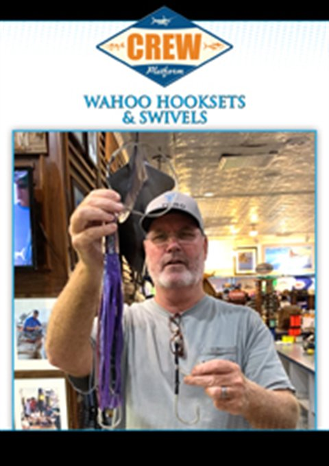 Wahoo Hooksets And Swivels
